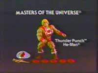 Thunder Punch He-man